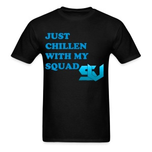 Chillen With The Squad - Men's T-Shirt