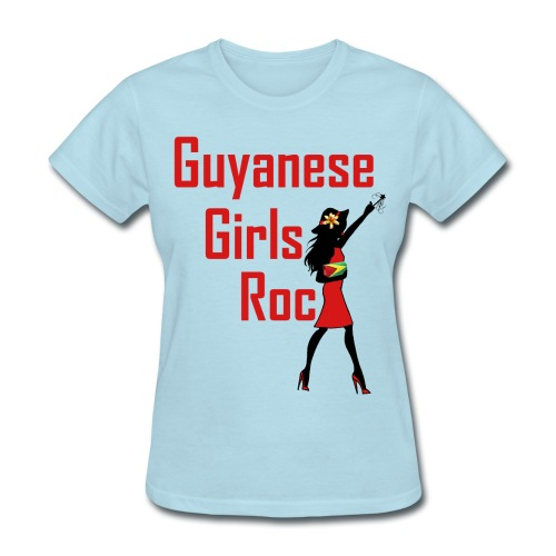 Guyana Girl T-Shirt - Women's T-Shirt
