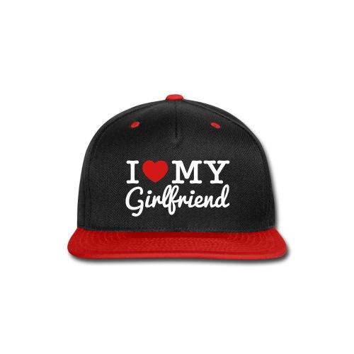 OK! I Love My Girlfriend Snapback - Snap-back Baseball Cap