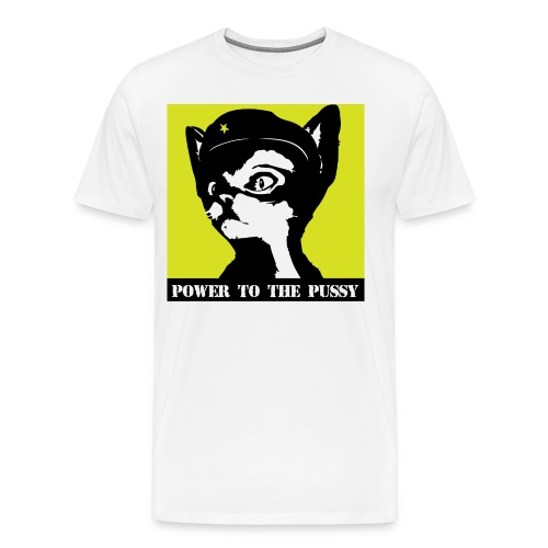 Power to the Pussy - Men's Premium T-Shirt