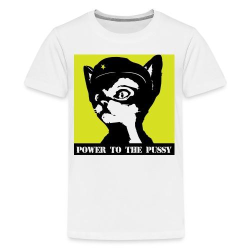 Power to the Pussy - Kids' Premium T-Shirt