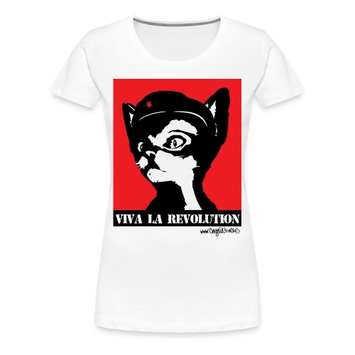 Viva La Revolution - Women's Premium T-Shirt