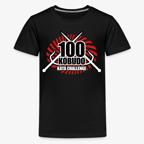 Kids' Premium T-Shirt - Uechi,Training,Shotokan,Shorin,Shito,Ryukyu,Ryu,Okinawa,Matsubayashi,Martial,MMA,Kyokushin,Kumite,Kobudo,Kobayashi,Kata,Karate,Japan,Goju,Fight,Dojo,Do,Challenge,Arts,100