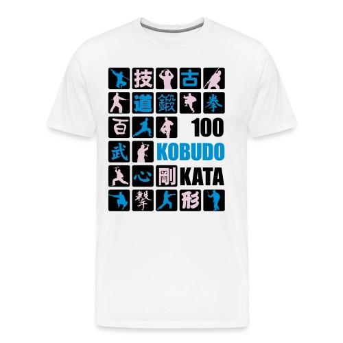 100 Okinawa Kobudo Kata Challenge 2016 Mens T-Shirt 1 - Men's Premium T-Shirt