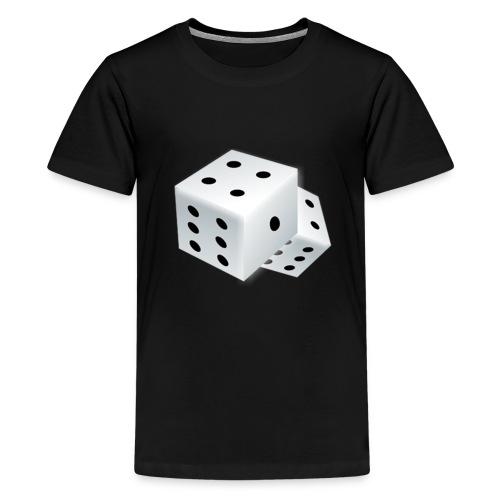 dado,cartoon,fun,fun logo - Kids' Premium T-Shirt