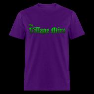 T-Shirts ~ Men's T-Shirt ~ Village Mire Tee Purple