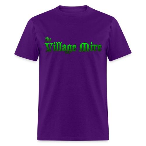 Village Mire Tee Purple - Men's T-Shirt