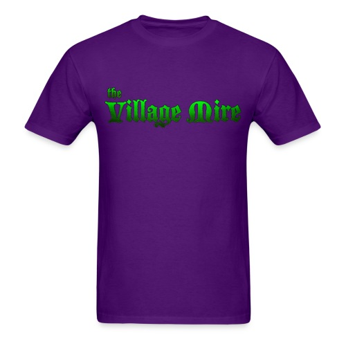 Village Mire Tee Purple - Men's T-Shirt