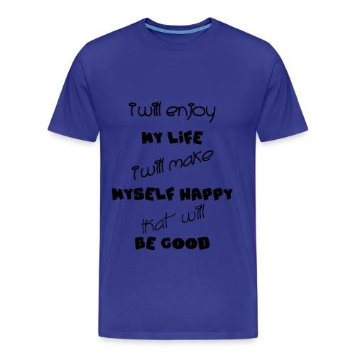 Desicion by Claudia-Moda - Men's Premium T-Shirt