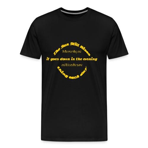 Sun by Claudia-Moda - Men's Premium T-Shirt