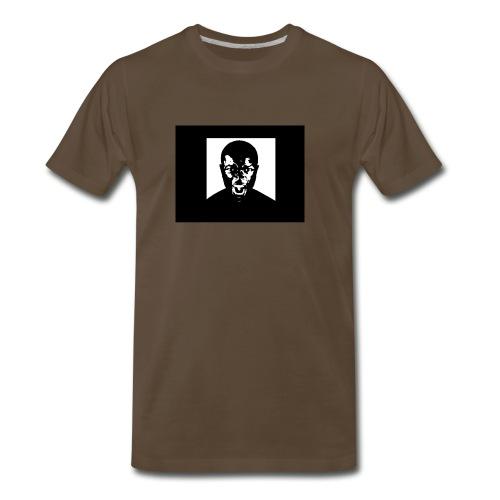 Brown Unofficial Anger Tee - Men's Premium T-Shirt