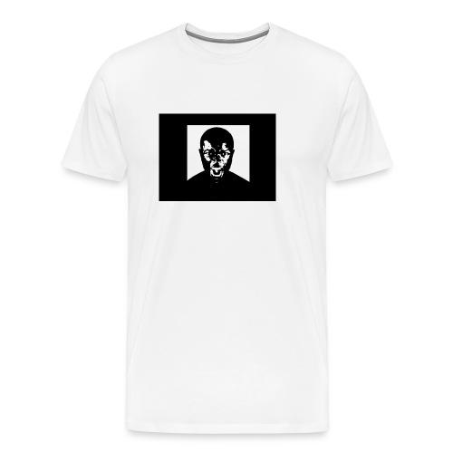 White Unofficial Anger Tees - Men's Premium T-Shirt