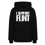 Hoodies ~ Women's Hoodie ~ I Support Flint (Net Proceeds to flintkids.com)