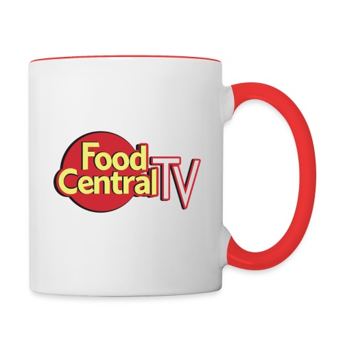 Food Central Tv Mug - Contrast Coffee Mug