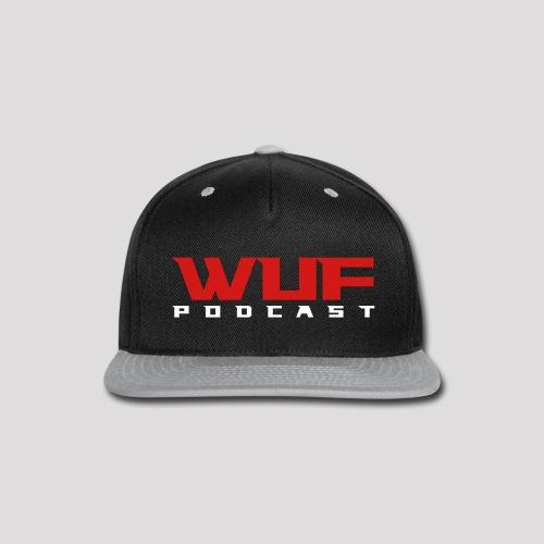 WUF // Staff Cap - Snap-back Baseball Cap