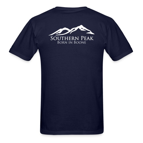 The Summit - Short Sleeve NAVY - Men's T-Shirt