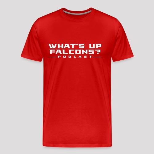 WUF // Red Tee - Men's Premium T-Shirt