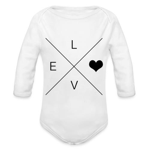 Love - Baby Onzie - Organic Long Sleeve Baby Bodysuit