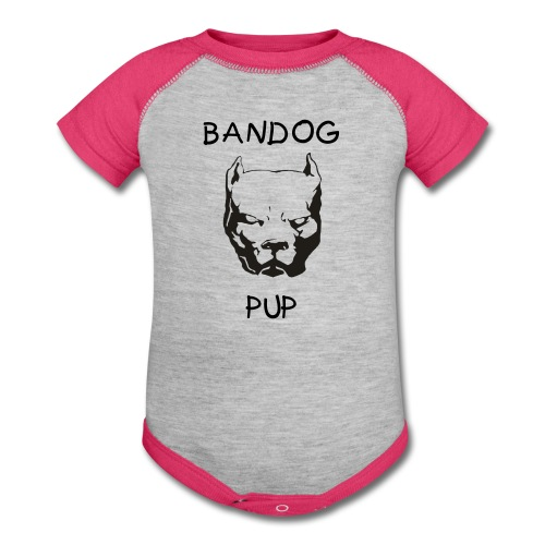 BANDOG Onsie - Baby Contrast One Piece