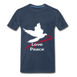 Love Peace, hate war - Men's Premium T-Shirt