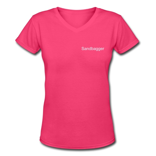 Sandbagger T - Women's V-Neck T-Shirt