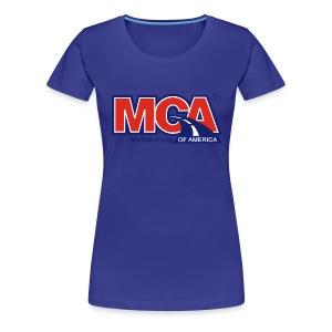 Womens Blue Tee - Women's Premium T-Shirt