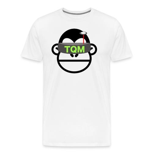 Team Quad Monkey White T-Shirt - Men's Premium T-Shirt