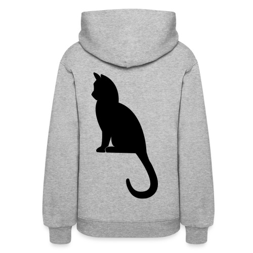 Women's black cat t shirt - Women's Hoodie