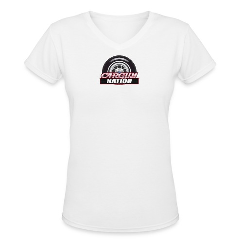 Womens V Neck CGN small - Women's V-Neck T-Shirt