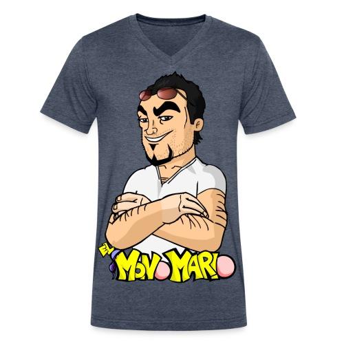 Escote en V - Men's V-Neck T-Shirt by Canvas