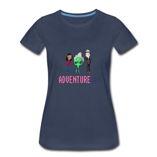 Adventure Zeros QTM Shirt (F) - Women's Premium T-Shirt