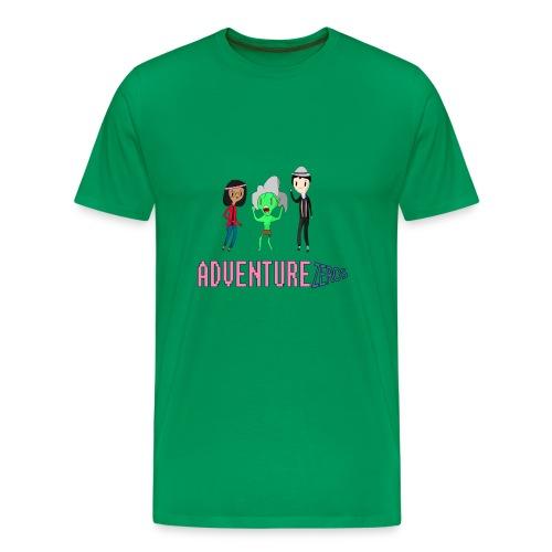 Adventure Zeros QTM Shirt (M) - Men's Premium T-Shirt
