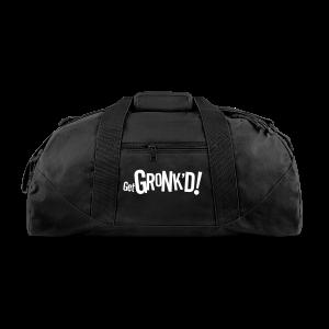 Get Gronkd Black Blanket - Duffel Bag