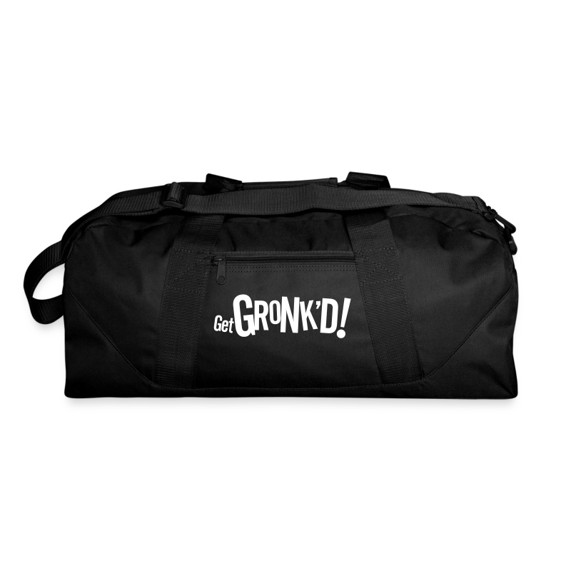 Get Gronkd Black Blanket - Duffel Bag
