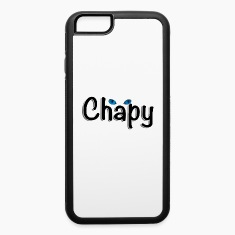 iPhone 6 Rubber Case with Chapy's Logo