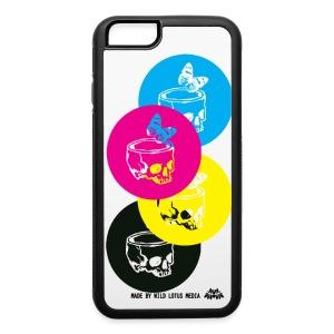 CMYK Skulls - iPhone 6/6s Rubber Case