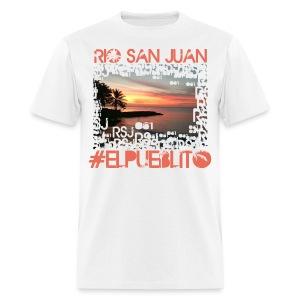 Rio San Juan #elpueblito - Men's T-Shirt