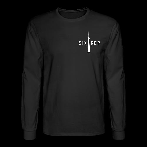6repLShirt | Classic B - Men's Long Sleeve T-Shirt