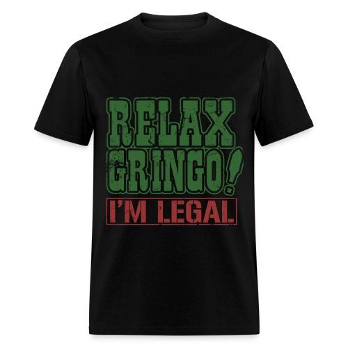 MEXICAN AMERICAN - Men's T-Shirt