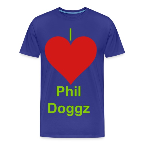 I Heart Phil Doggz Mens Tee - Men's Premium T-Shirt
