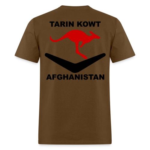 Multi-National Base Tarin Kowt T-Shirt - Brown - Men's T-Shirt