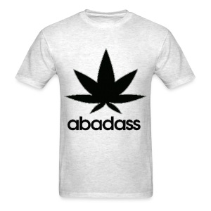 A bad ass weed shirt - Men's T-Shirt