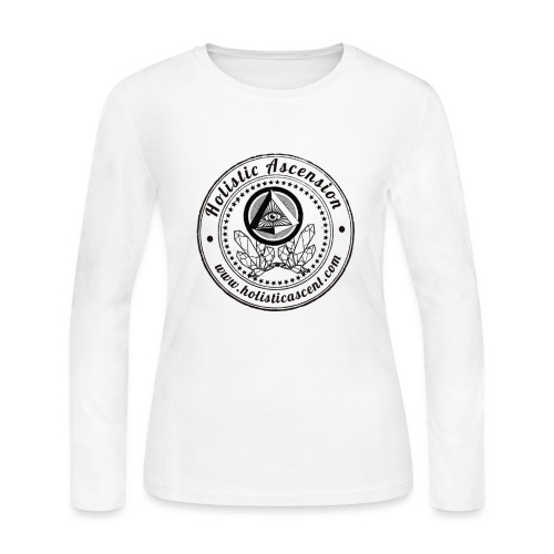 Holistic Ascension Logo Shirt - Women's Long Sleeve Jersey T-Shirt