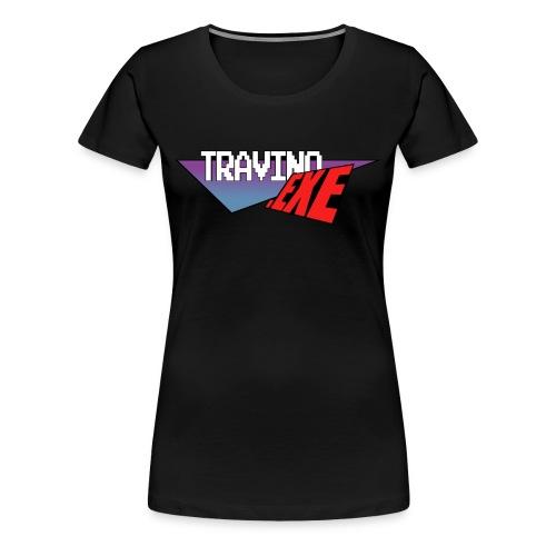 Travino.EXE Logo [Women] - Women's Premium T-Shirt