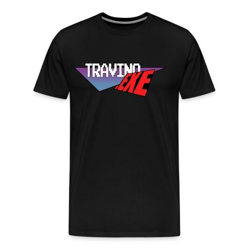Travino.EXE Logo [Men] - Men's Premium T-Shirt
