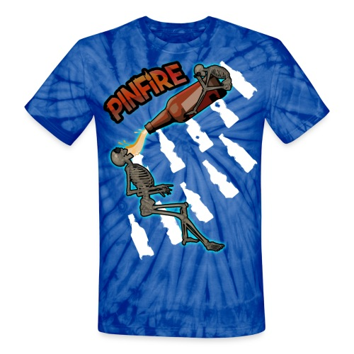 Bottleman Print T-Shirt - Unisex Tie Dye T-Shirt