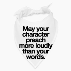 MAY YOU CHARACTER PREACH Caps