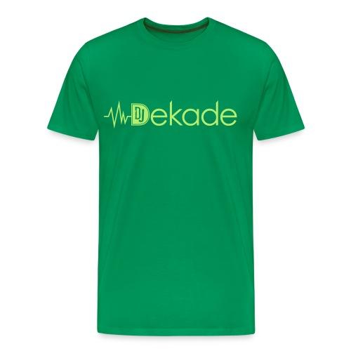 DJDEKADE EMERALD MANAGEMENT T-SHIRT  - Men's Premium T-Shirt