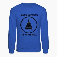 Negative Ghostwriter Long Sleeve Shirts