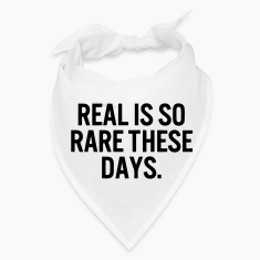 REAL IS SO RARE  Caps